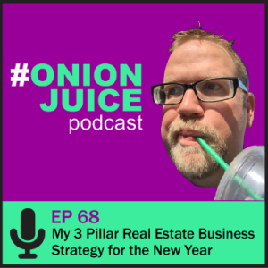 My 3 Pillar Real Estate Business Strategy for the New Year- Episode 68